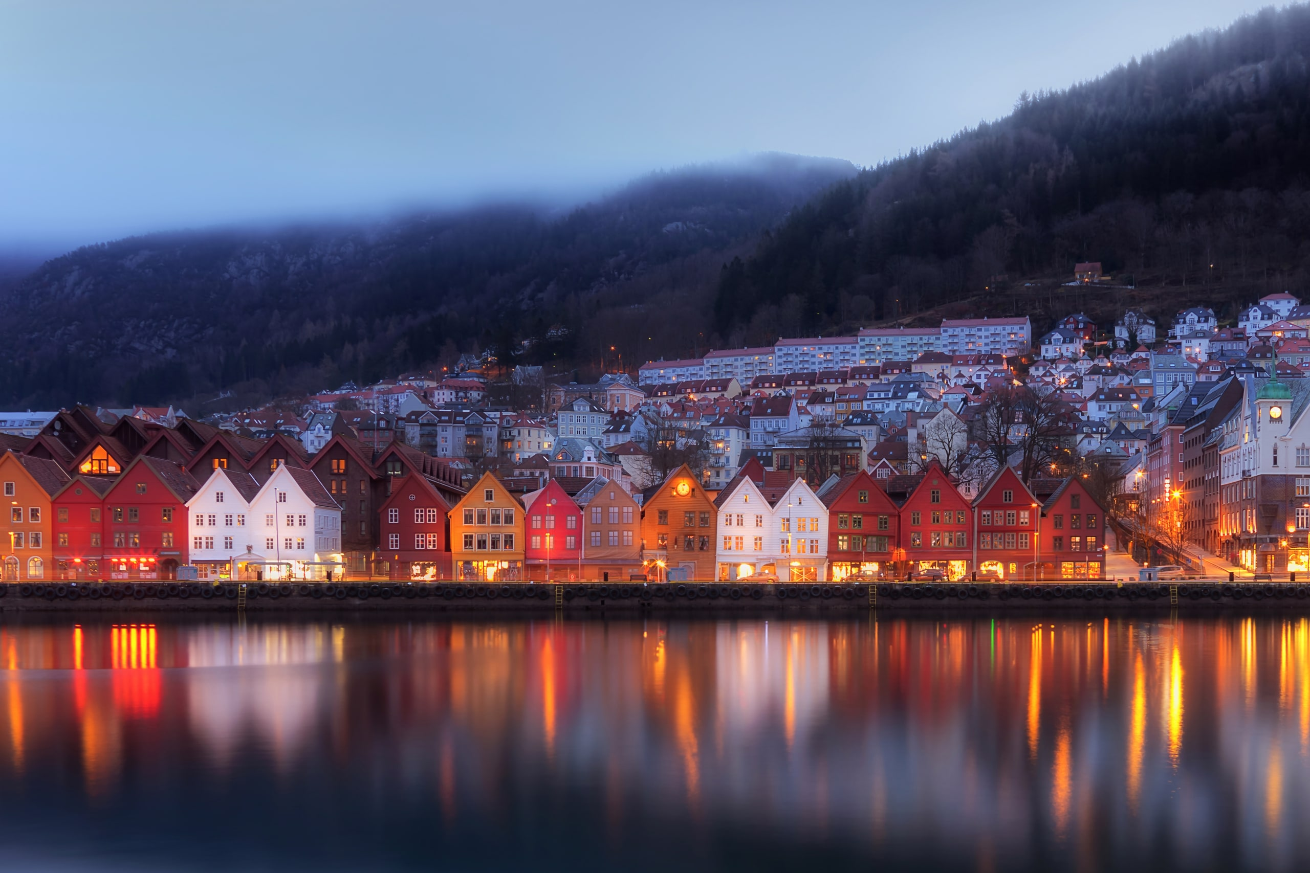 """Featured image for """"Bryggen, the old wharf of Bergen"""""""