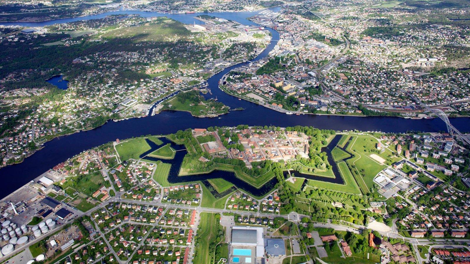 """Featured image for """"Fredrikstad Festning"""""""